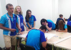 OJSC «Il» young specialists participate in aviation session of Artek children camp