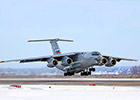 Upgraded military-transport aircraft il-76md-90a finilized the first stage of state joint testsing