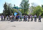 Ilyushin team took active part in Moscow city action «To work by bicycle»