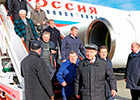 Special flight detachment aircraft «Russia» Il-96-300 was assigned the name of aircraft designer Genrich Novozhilov