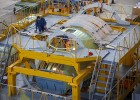 Manufacturing of the first IL-112V fuselage aggregates is on its final stage