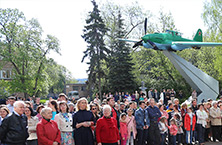 OJSC «Il» hosted solemn ceremonies dedicated to the 71 th anniversary of the Victory in the Great Patriotic War