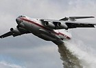 Il-76 aircraft participate in fire suppression in Siberian Federal District