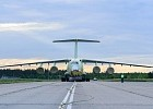 Another serial transport aircraft Il-76MD-90A, built at JSC «Aviastar-SP», was transferred for painting