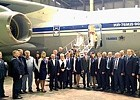 First heavy military-transport IL-76MD-90A aircraft, built within the frame of SDO, transferred for making of special complex to the benefit of Air Force