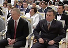 The President of Russian Federation Vladimir Putin handed over the Order of Courage to Ilyushin Test Pilot