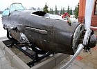 Exposition of the park «Patriot» received armored shell of IL-2 attack plane