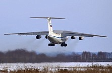 Il-76MD-M first flight
