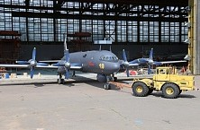 The first production upgraded antisubmarine aircraft Il-38N
