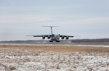 Il-76MD-90A flew in «Ulyanovsk-Vostochny» on «Aviastar-SP» to further refine the results of the first stage of state joint tests