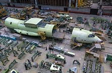 Production of IL-76MD-90A and IL-78M-90A at Aviastar-SP CJSC premises