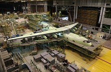 Manufacture of the Il-76MD-90A and Il-78M-90A at Aviastar-SP factory, December 2015